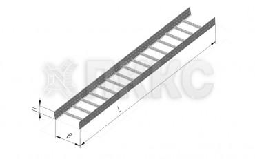 Лоток лестничного типа усиленный ЛЛУ-110