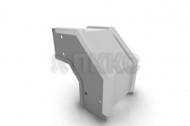Короба угловые вертикальные поворота трассы вниз на 90º  У1108, У1082, У1092