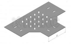 Донное основание Т-отвода (тройника) кабельроста ДЛЛК-Т