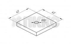 Гайка монтажная S-образного профиля 70х150 HTSN2-М10 и HTSN2-М8 предназначена для монтажа инженерных систем к консолям HTS-С1, HTS-C2, опоре горизонтальной HTS-S