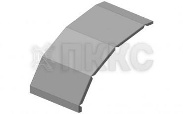 Крышка угла шарнирного вертикального кабельроста лестничного КЛЛУ-Ш