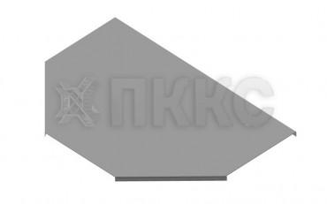 Крышка Т-отвода (тройника) кабельроста лестничного КЛЛУ-Т
