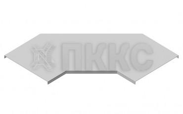 Крышка угла горизонтального 60° кабельроста лестничного КЛЛУ-У60Г