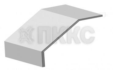 Крышка угла вертикального вниз 90° кабельроста лестничного КЛЛУ-У90Н