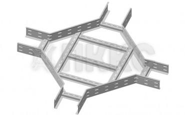 Х-отвод (крестообразный разветвитель) лестничного типа усиленный ЛЛУ-К