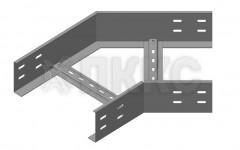 Угол горизонтальный 30° лестничного типа усиленный ЛЛУ-У30Г