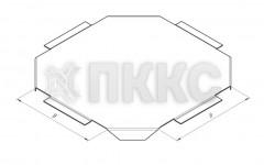 Крышка лотка крестообразного НЛК-К