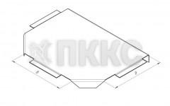 Крышка лотка тройникового НЛК-Т