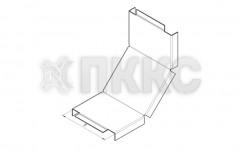 Крышка лотка углового вертикального внутреннего на 90° НЛК-У90В