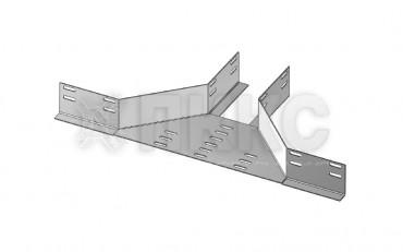 Отвод боковой перфорированный ОБЛ (высота борта 65мм)