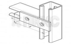 Пластина 2 отверстия ССТ 603