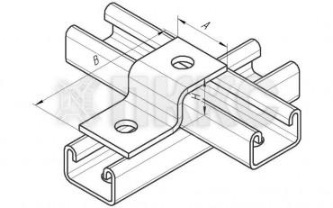 Пластина Z-образная 2 отверстия ССТ 633