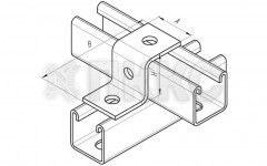 Пластина Z-образная 3 отверстия ССТ 634